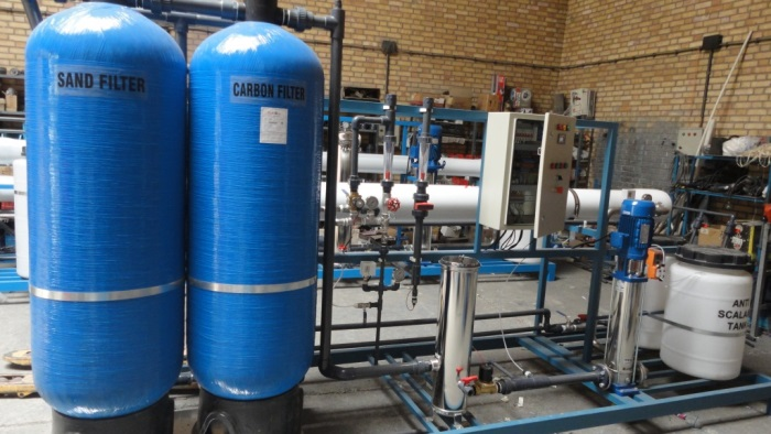 Industrial water treatment reverse osmosis