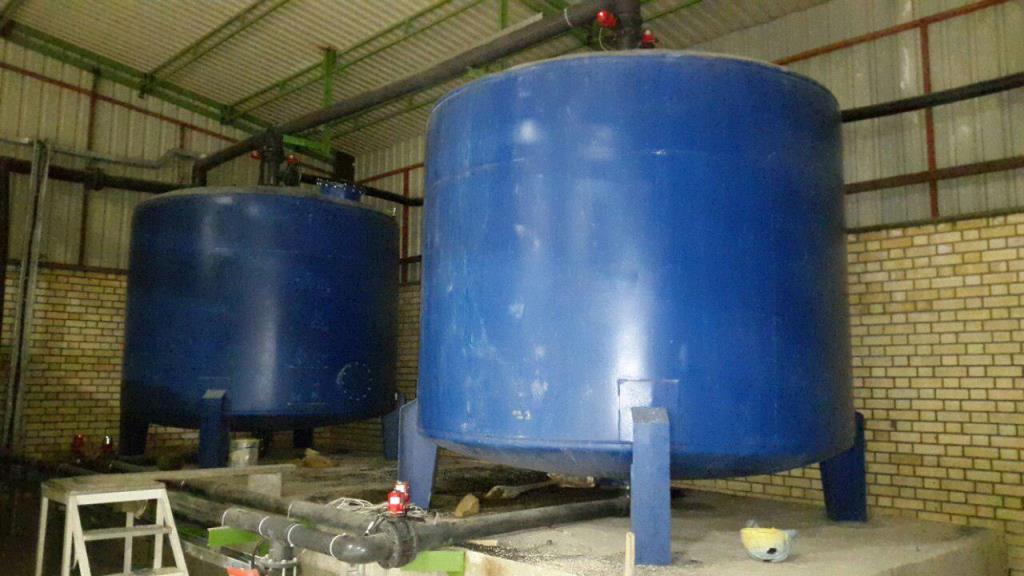 دستگاه تصفیه آب صنعتی فولاد روهینای جنوب