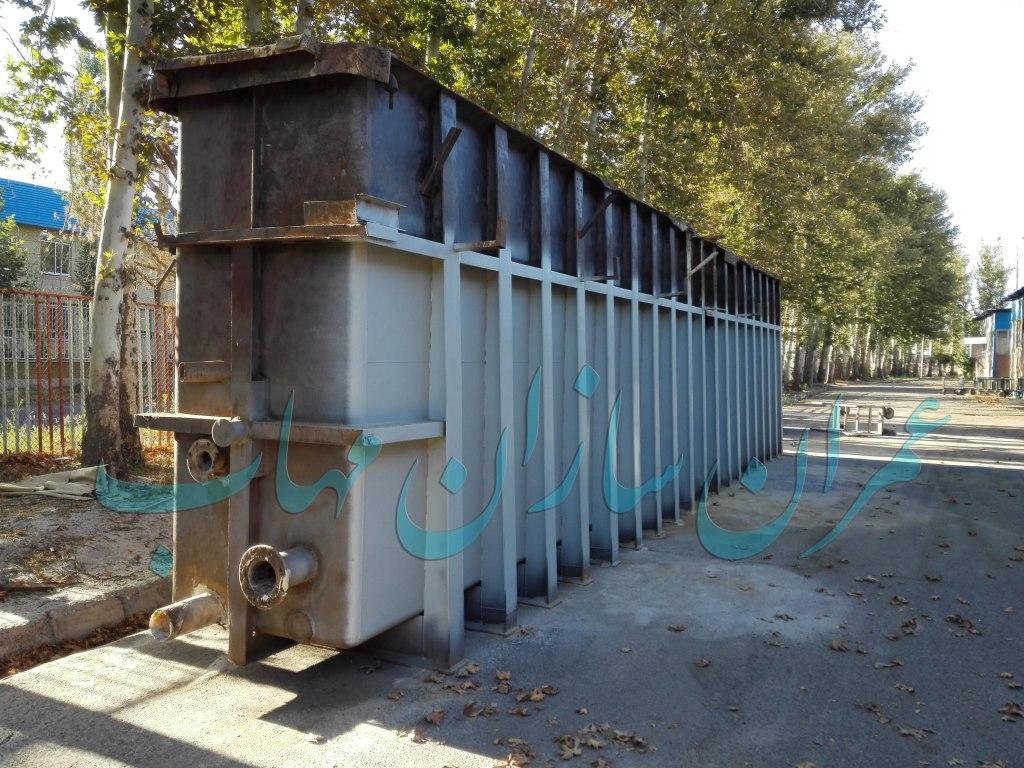 نصب سیستم هوادهی خط تولید آلومینیوم