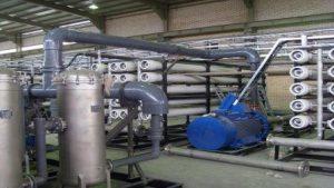 دستگاه تصفیه آب صنعتی نیروگاه اسمزمعکوس