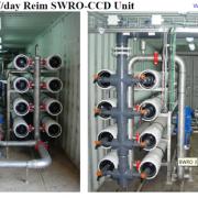 فرآیند SWRO-CCD Desalitech آب شیرین کن نمک زدایی تصفیه آب