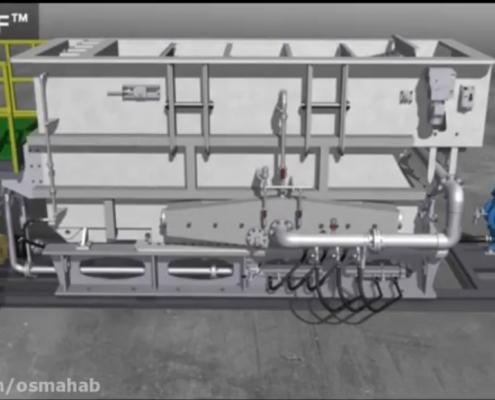 مکانیسم دقیق حذف جامدات معلق با استفاده از شناورساز DAF