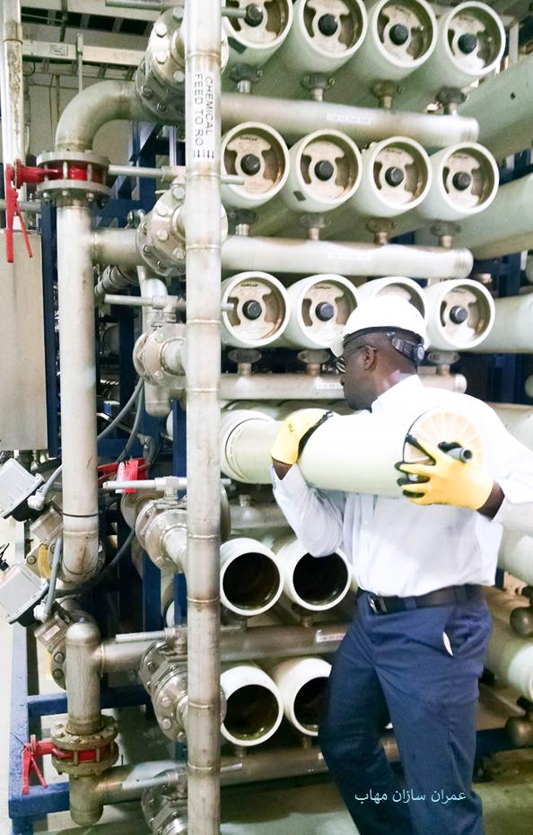 برای غلبه بر مشکلات رسوب، تمیز کردن شیمیایی در محل (CIP)