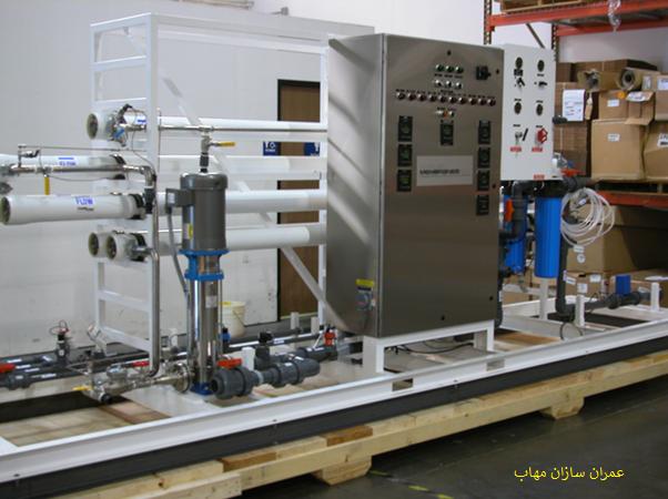 سیستم Pilot Plant پایلوت پلنت تصفیه و بازچرخانی آب استفاده مجدد از پساب