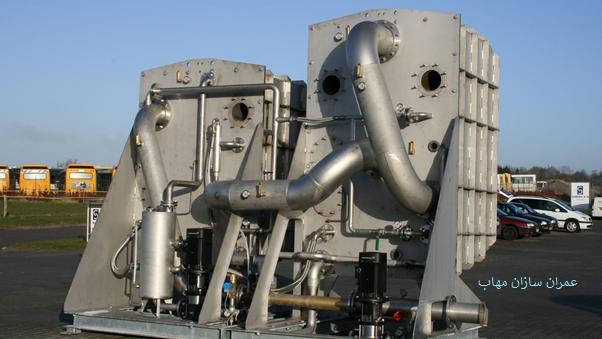 کاربرد تبخیر کننده-های مختلف evaporators در صنعت