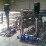 Reverse osmosis water purification Imam Hossein University