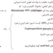عوامل مؤثر بر گندزدایی و غیرفعال کردن میکروبی