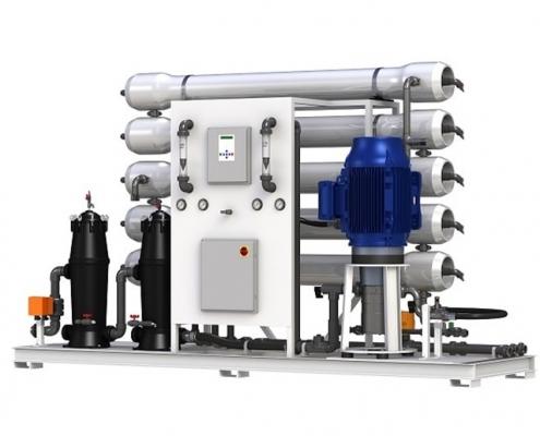 سیستم تصفیه آب صنعتی آب شیرین کن