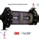 شماتیک دستگاه ممبران تماسی برای حذف گاز حل شده در فاز مایع همراه