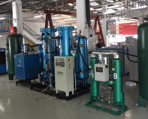 پکیج جداسازی هوا Vacuum Swing Adsorption